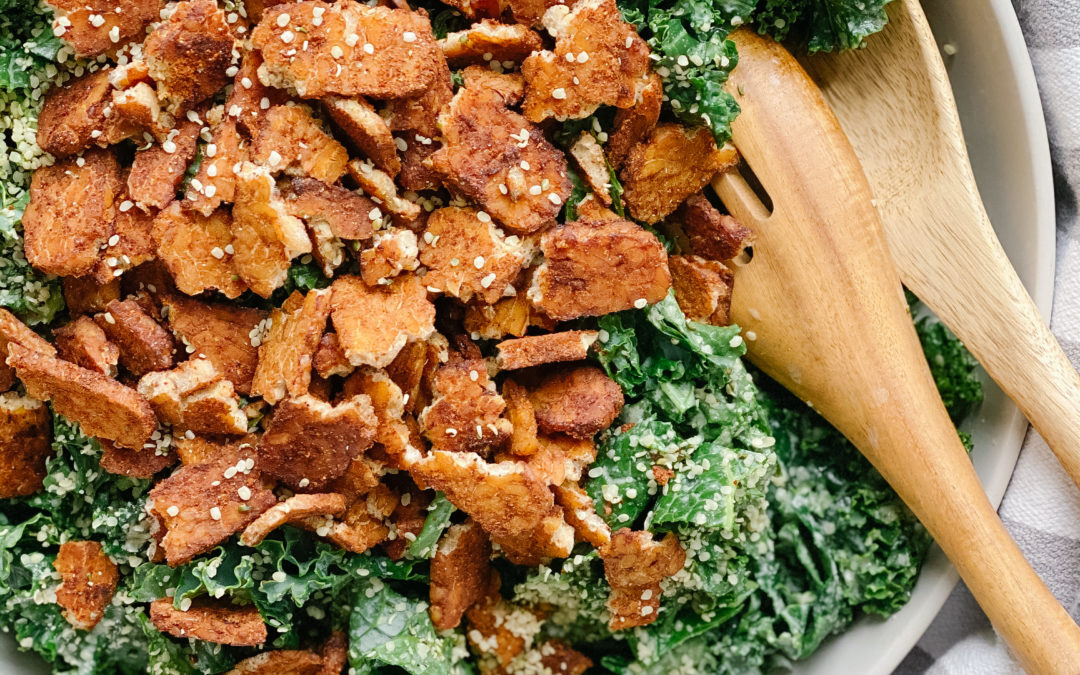 Kale & Tempeh Salad (Recipe Download)